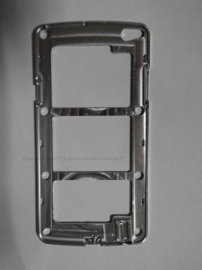 Galaxy S5 Metal Chassis