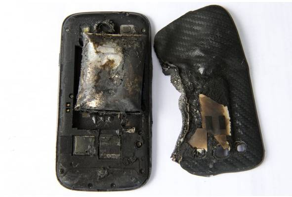 Exploded Galaxy S3