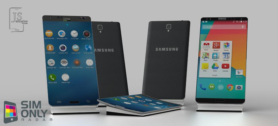Galaxy S5 Concept Designs